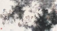 竹林七贤 镜心 设色纸本 - 67957 - 中国当代水墨 - 2006秋季拍卖会 -收藏网