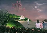 许愿 布面 油画 - 向庆华 - 中国油画雕塑 - 2007秋季艺术品拍卖会 -收藏网