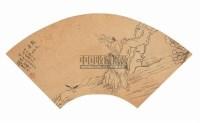 人物扇面 立轴 水墨纸本 - 5938 - 中国书画 - 2005秋季艺术品拍卖会 -收藏网