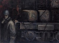 陈创洛 牵动 布面 油画 - 陈创洛 - 中国油画 - 2006年秋季拍卖会 -收藏网