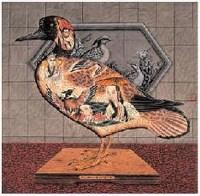 张庆 鸟谱 镜心 - 84096 - 中国书画 - 2007年秋季艺术品拍卖会 -收藏网