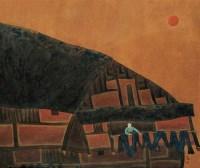 李强 染布 镜心 - 李强 - 当代中国书画(二) - 2006畅月(55期)拍卖会 -收藏网