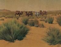 汪志杰 大漠 板面油画 - 93119 - 中国油画 - 2006秋季艺术品拍卖会 -收藏网