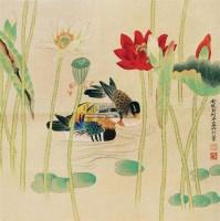 花鸟 立轴 - 俞致贞 - 中国书画 - 2011年春季艺术品拍卖会 -收藏网