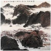 清秋晓岚 - 许钦松 - 广东当代书画名家 - 2007春季拍卖会 -收藏网