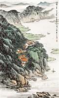 山水 立轴 纸本 - 5002 - 中国书画专场 - 2012年迎春中国书画精品拍卖会 -收藏网