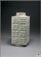 清乾隆 仿哥窑八卦纹琮式瓶 -  - 中国瓷器 玉器及杂项 - 2007年秋季大型艺术品拍卖会 -收藏网