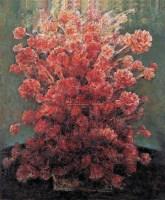 绽放 布面 油画 -  - 油画、雕塑、版画暨广东油画、水彩 - 2006冬季拍卖会 -收藏网