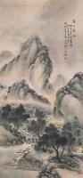 孙少洲 溪山新雨 立轴 设色纸本 -  - 中国书画(一) - 2006畅月(55期)拍卖会 -收藏网