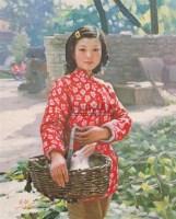 彩彩 布面油彩 - 王胜利 - 中国油画及雕塑 - 2006年春季拍卖会 -收藏网