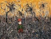 森林 布面丙烯 - 林国成 - 西风东魂:油画和当代艺术专场 - 2009年秋季大型艺术品拍卖会 -收藏网