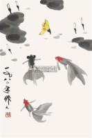 金鱼 镜片 - 116163 - 中国书画 - 2011年首屇艺术品拍卖会 -收藏网