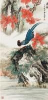 花鸟 立轴 纸本 - 4069 - 中国书画 - 2011金秋艺术品大型拍卖会 -收藏网