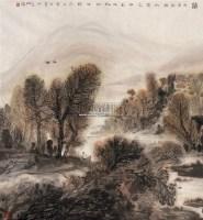 归 镜心 设色纸本 - 王少伦 - 中国当代书画 - 2008春季拍卖会 -收藏网
