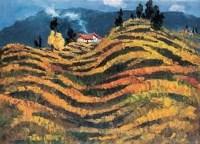 秋歌 -  - 油画 水彩画 - 2007年春季艺术品拍卖会 -收藏网