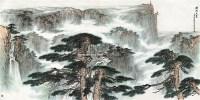 雄峙天东 镜心 设色纸本 - 张登堂 - 中国书画一 当代书画专场 - 第70期艺术品拍卖会 -中国收藏网