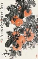 事事如意 镜心 设色纸本 - 柳村 - 中国书画(一) - 第9期精品拍卖会 -收藏网