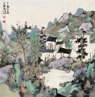 山水 镜心 设色纸本 - 林容生 - 中国当代书画 - 2007年冬季艺术品拍卖会 -收藏网