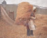 背草的女孩 布面  油画 - 125505 - 中国书画 - 第55期中国艺术精品拍卖会 -收藏网
