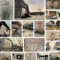 《墙上的毛》 - 17071 - 中国油画 雕塑影像 - 2006广州冬季拍卖会 -收藏网