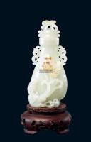 和田白玉籽料水仙瓶 -  - 美玉尚品---玉雕大师作品专场 - 大师荟萃 异彩纷呈—当代传统工艺大师优秀作品拍卖会 -中国收藏网