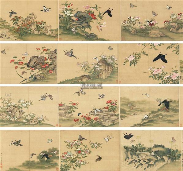 中国古代书画 - 首届艺术品拍卖会图片
