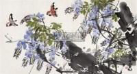 花鸟 横幅 设色纸本 - 林丰俗 - 中国书画 - 第117期月末拍卖会 -中国收藏网