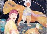 陈活活 往事 -  - 油画暨雕塑 - 2007年秋季艺术品拍卖会 -收藏网