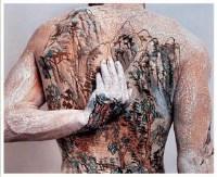 中国山水纹身二套之四 摄影 10/12 - 黄岩 - 中国油画(一)-亚洲当代 - 2007春季拍卖会 -收藏网