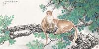山深闻猿嬉 镜片 - 117202 - 中国书画 - 2011金色时光文物艺术品专场拍卖会 -收藏网