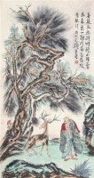 菩提本无树 镜心 纸本 - 范扬 - 中国书画(一) - 2011年春季艺术品拍卖会 -收藏网