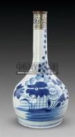 青花花卉纹直口瓶 -  - 古董珍玩 - 2011春季艺术品拍卖会 -收藏网