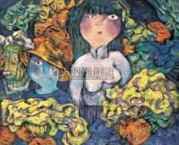 人物 布面 油画 - 111553 - 油画、雕塑、版画暨广东油画、水彩 - 2006冬季拍卖会 -收藏网