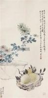 清供 立轴 设色纸本 - 118941 - 中国书画(一) - 2011年夏季拍卖会 -收藏网