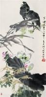 芦塘夜鹭 立轴 设色纸本 - 周之林 - 中国书画 - 2007太平洋秋季艺术精品拍卖会 -收藏网