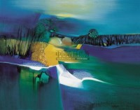 大自然的和谐 油画 框 - 158378 - 油画 中国书画 杂项 - 2008欢乐节艺术品拍卖会 -中国收藏网
