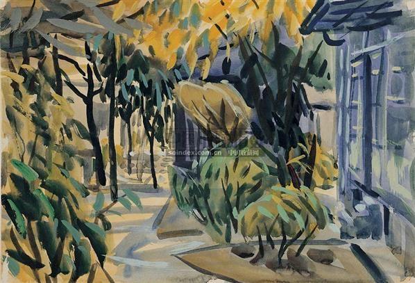 公园一景 - 46765 - 华人当代艺术 - 2007春季拍卖会 -收藏网