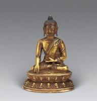 清 铜释迦牟尼佛像 -  - 妙音天籁-佛教艺术品 - 2006年秋(十周年)拍卖会 -收藏网