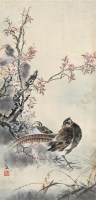 花鸟图 立轴 设色纸本 - 4629 - 中国书画艺术品专场 - 2011年秋季艺术品拍卖会 -收藏网