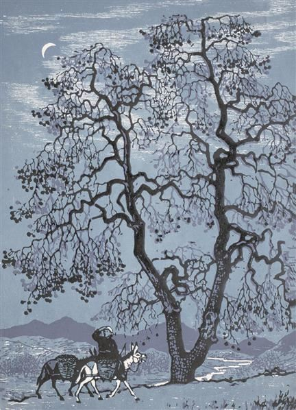 版画黎明 镜心 纸本 - 124060 - 中国书画 - 2006艺术品拍卖会 -中国收藏网
