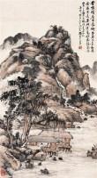 古意山水 立轴 设色纸本 - 133217 - 中国书画(二) - 2006迎春首届大型艺术品拍卖会 -收藏网