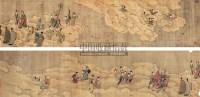 群仙祝寿图 手卷 设色绢本 - 尤求 - 中国古代书画 - 2007年秋季大型艺术品拍卖会 -中国收藏网
