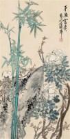 平安富贵 立轴 设色纸本 - 蒲华 - 中国书画二 - 2011秋季艺术品拍卖会 -收藏网