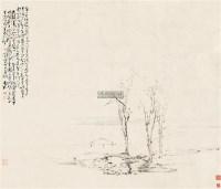 山水 立轴 水墨纸本 - 116870 - 中国书画一 - 2011年秋季大型艺术品拍卖会 -收藏网
