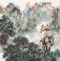取经图 - 吴泽浩 - 中国书画 - 2006春季艺术品拍卖会 -收藏网