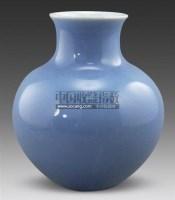 一道蓝釉苹果尊 -  - 古董珍玩 - 2011春季艺术品拍卖会 -收藏网