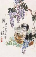 傲 立轴 设色纸本 - 孙菊生 - 中国书画 - 第117期月末拍卖会 -收藏网