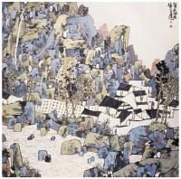 山居图 - 林容生 - 中国书画 - 2007春季拍卖会 -收藏网