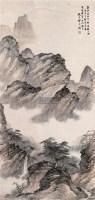 山水 立轴 设色纸本 - 祁昆 - 中国书画 - 2007春季拍卖会 -收藏网