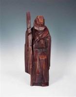 达摩 木雕 - 140662 - 现代与当代艺术 - 2011台北秋季拍卖会 -收藏网